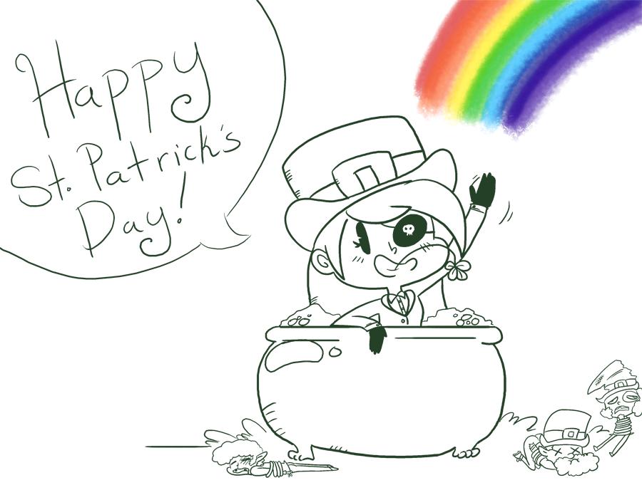 Bonus: Happy St. Paddy's Day!